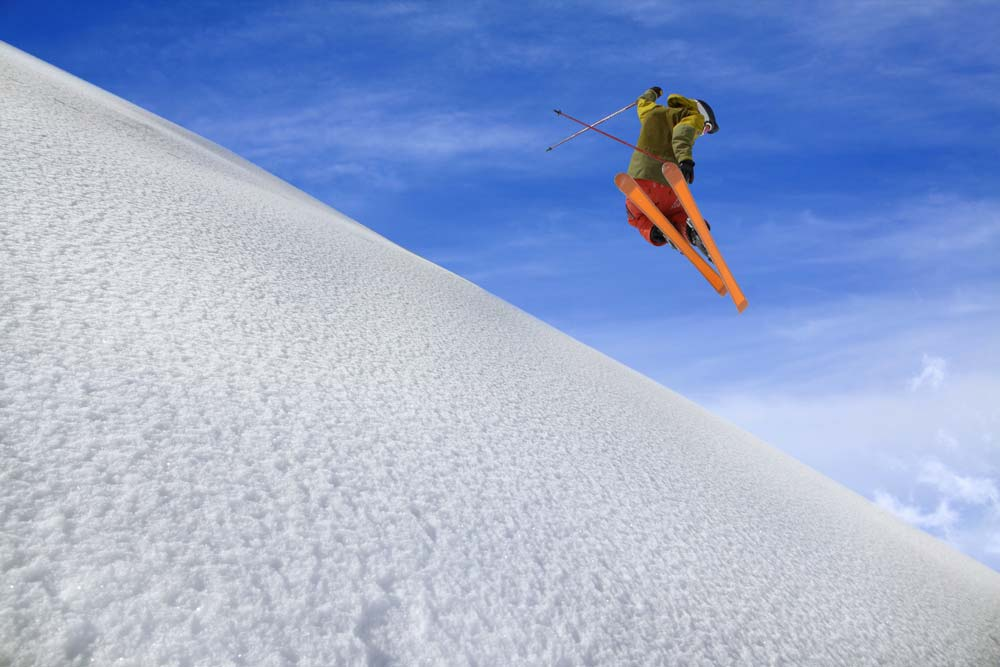 Skiing and Snowboarding Courchevel