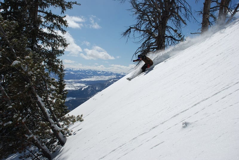 3 valleys piste map for the advanced skier