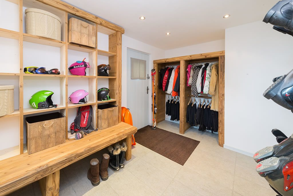 Chalet Mollard Courchevel Moriond 1650 Boot Room