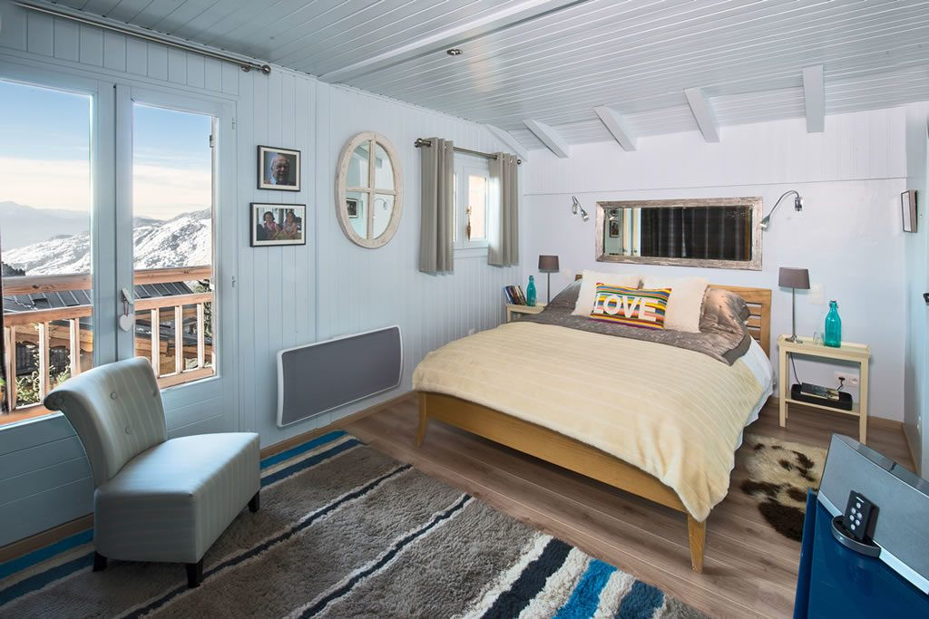 Chalet Mollard self-catered in Courchevel Moriond 1650 Bed Room