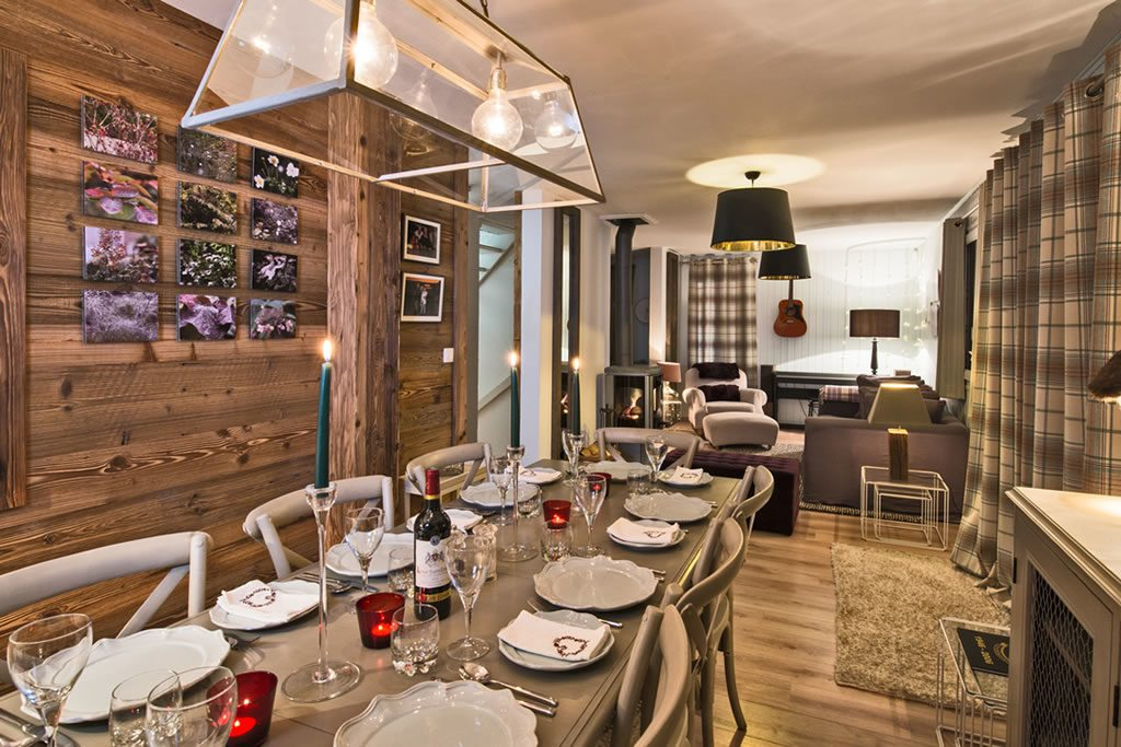 Chalet Mollard Courchevel Moriond 1650 Dining Room