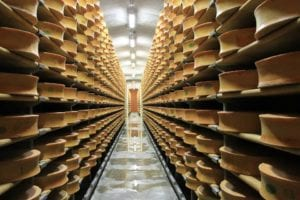 Cheese as far as the eye can see...