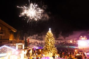 New Year Courchevel events