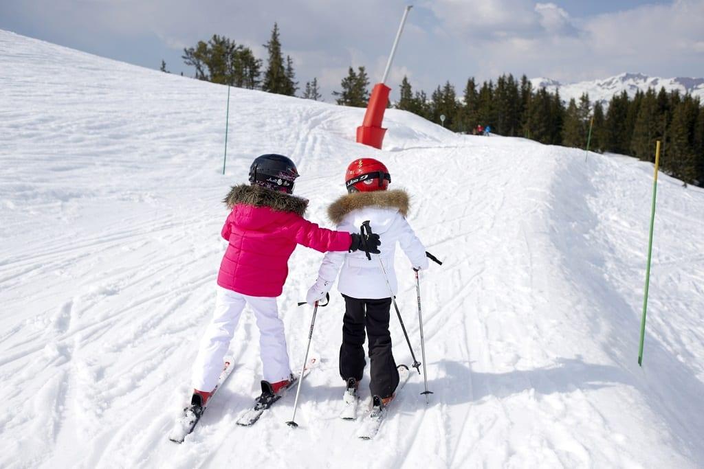 Family Skiing Courchevel