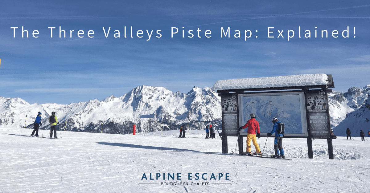 The 3 Valleys Piste Map Explained!