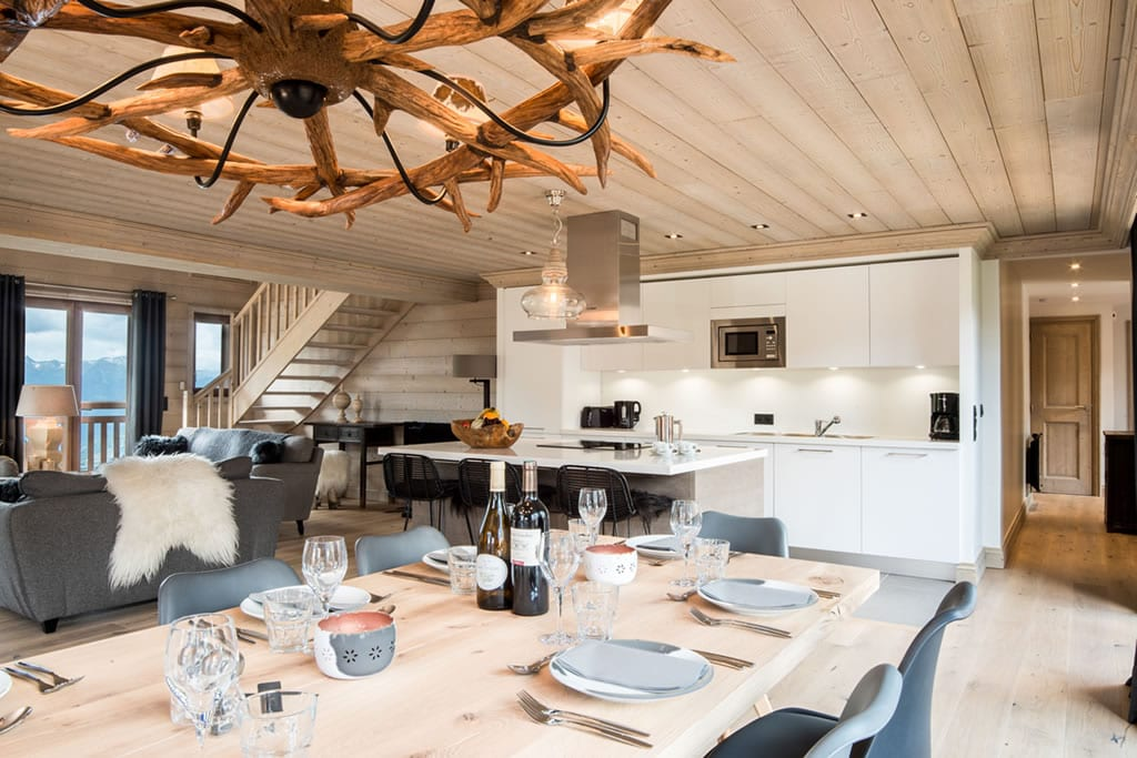 Self-catered Chalet - The Loft Courchevel Moriond