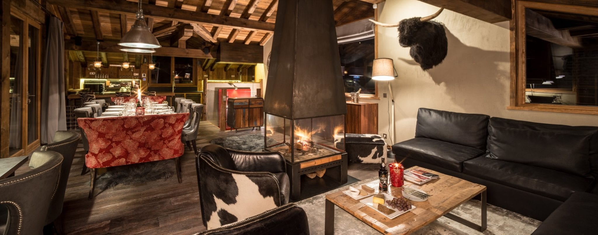 Luxury accommodation in Courchevel