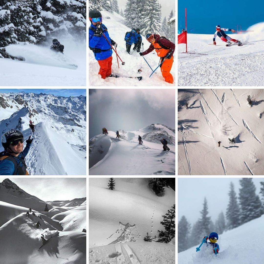 ski and snowboard Instagram accounts