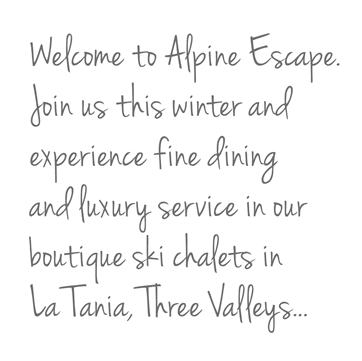 Welcome to Alpine Escape