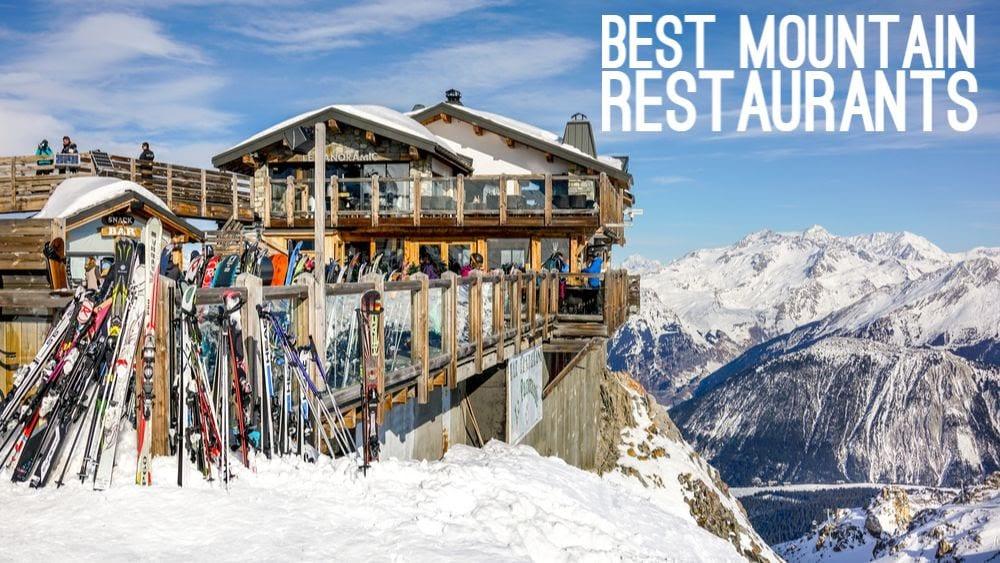 Best Mountain Restaurants in Courchevel